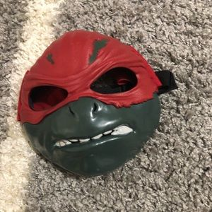 TMNT Ninja Turtles Raphael Child Mask